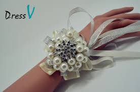 wrist corsages for homecoming slap up wedding accessories wrist flowers corsage brooch
