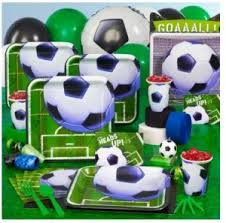 soccer party supplies soccer party ideas and supplies themeaparty