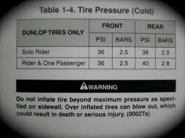 tire pressure harley davidson forums