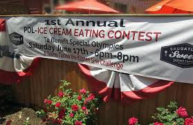 Everything And The Kitchen Sink In Ice Cream Eating Contest - Kitchen sink ice cream sundae