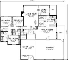 4 bedroom modern prairie home plan homepw75737 modern beach house