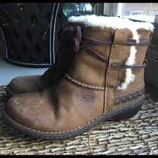 s ugg australia chaney boots ugg australia cove 5136 size 7 boot with lace up around