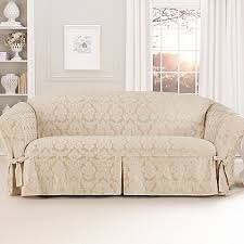 Bed Bath Beyond Sofa Covers by Sure Fit Relaxed Fit Middleton 1 Piece Sofa Slipcover Bed Bath