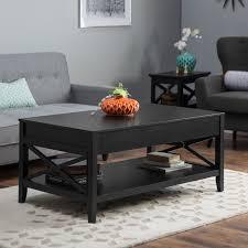 belham living hampton lift top coffee table black from