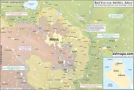 Iraq Province Map Map Update Anti Isis Forces Readying To Wide Scale Storm Of Mosul