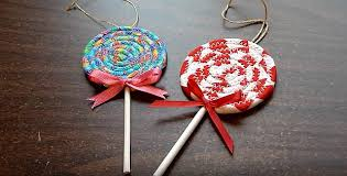 make lollipop ornaments from leftover fabric quilting digest