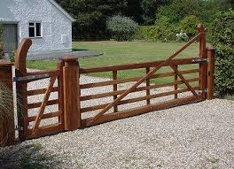 WOODEN GATE DESIGN HOUSE Automatic Gates  Spring Idea - Backyard gate designs