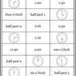 telling time worksheets u2022 o u0027clock half past quarter to