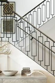 wrought iron stair panels cattail railing panel fence