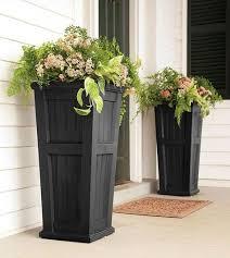 Diy Patio Planter Box Best 25 Front Porch Planters Ideas On Pinterest Front Door