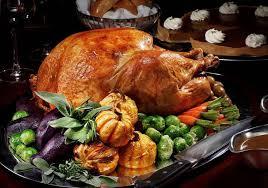 the big thanksgiving dinner list city weekend