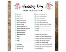 wedding checklist wedding checklist etsy