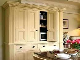 Kitchen Freestanding Pantry Cabinets Freestanding Pantry Salmaun Me