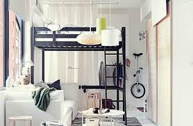 Bunk Bed With Desk Ikea Bedroom Appealing Ikea Svarta Loft Bed With Desk Ikea Svarta