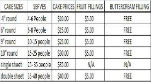 cake prices customize your cake new cake prices