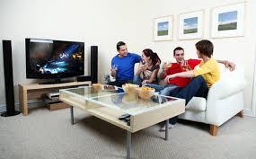 Ucinput Typehidden Prepossessing What Size Tv For Living Room - Family in living room