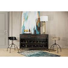 sofa table with wine rack amazon com bridgewater sofa table with wine rack buffets