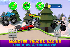 videos of monster trucks for kids monster trucks game for kids 2 android apps on google play