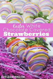 where to buy white chocolate covered strawberries easter white chocolate covered strawberries centsable momma