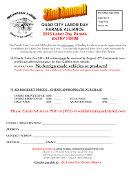 city of davenport halloween parade labor day parade u2013 september 7th 2015 quad city federation of labor