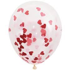 valentines balloon delivery hearts confetti filled balloons delivery valentines balloon