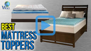 Bed Toppers Top 10 Mattress Toppers Of 2017 Video Review