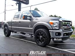 Truck Wheel And Tire Packages Ford F250 With 22in Fuel Hostage Wheels Exclusively From Butler