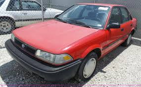 1991 Toyota Corolla Hatchback 1991 Toyota Corolla Item J4110 Sold July 6 Vehicles And