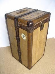 classic wardrobe antiques atlas classic wardrobe travel trunk by hartmann usa
