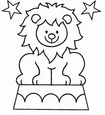 coloring page lion cute lion coloring page kids coloring