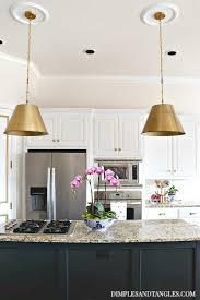 Savoy Pendant Lights Brass Pendant Lights In The Kitchen Dimples And Tangles