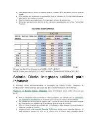 cmo calcular el salario diario integrado con sueldo salario diario integrado