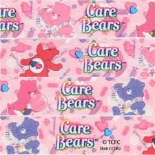 cute pink care bears candy deco tape sticky tape cartoon tapes