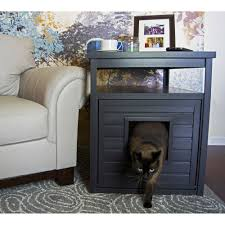 litter box end table new age pet ecoflex litter loo litter box cover end table espresso