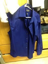 men u0027s dress shirt into a tie and apron 8 steps