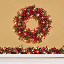 decorating pre lit garland white wreath costco garland