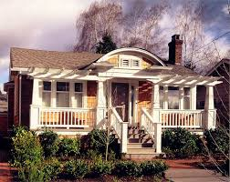 seattle front porch pergola exterior craftsman with bungalow brown