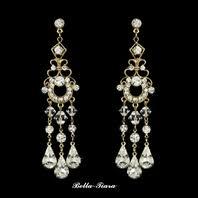 Big Chandelier Earrings Wedding U0026 Bridal Earrings Chandelier Earrings Bella Tiara Com