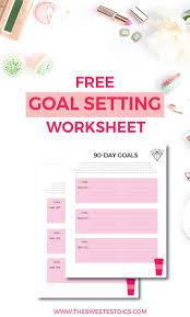 Setting Smart Goals Worksheet 81 Best Goals Images On Pinterest Goal Settings Setting Goals