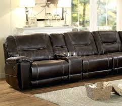 Leather Motion Sectional Sofa Julius Leather Power Motion Sectional Sofa Caruso 6