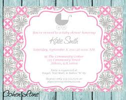 simple invitations etsy