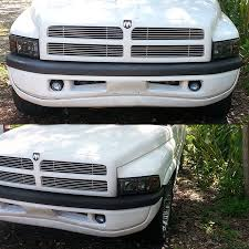 2001 dodge ram 2500 headlight assembly 01 dodge ram 1500 2500 3500 smoked 1pc headlights