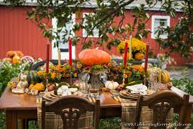 a fall tablescape welcome autumn celebrating everyday
