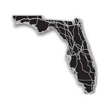 Florida State Map by Florida Acrylic Cutout State Map Modern Crowd Touch Of Modern