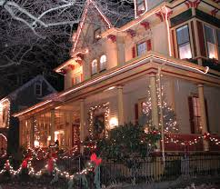 photos of homes decorated for christmas christmas in cape may cape may u2013 lewes ferry partners with mac