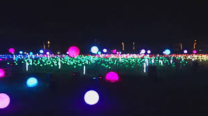 himig ng pasko light spheres and buds magical field of lights