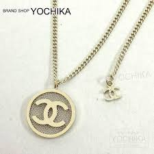 gold round necklace images Yochika kyoto shimogamo rakuten global market chanel chanel jpg