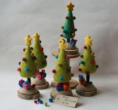 Mini Christmas Tree Crafts - best 25 felt christmas trees ideas on pinterest diy christmas
