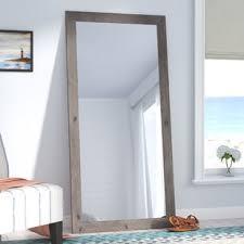 full length mirror with light bulbs full length door mirror wayfair