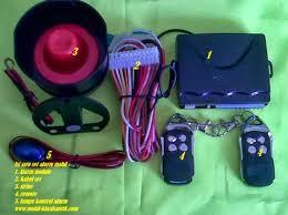 tips memasang central lock dan alarm remote mobil bengkel